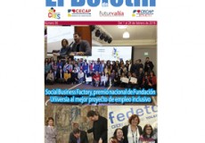 """El reconocimiento de Fundación Universia a Social Business Factory como mejor proyecto nacional de empleo inclusivo, noticia destacada de nuestro newsletter mensual """"El Boletín"""""""