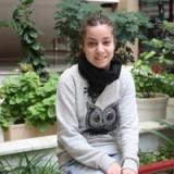 Yasmina Martín inicia sus prácticas en CECAP dentro de sus estudios de Educación Social