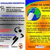 CECAP Yébenes organiza sendos cursos de Acercamiento a las Nuevas Tecnologías y de Iniciación Deportiva