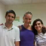 Jorge, Isabel y Elena comparten la vivienda de Supra-Generalización puesta en marcha por CECAP