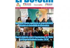 """La colaboración de Fundación CIEES con la Universidad de Extremadura para fomentar el emprendimiento inclusivo, noticia destacada de nuestro newsletter mensual """"El Boletín"""""""
