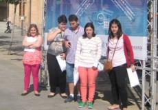 Cinco participantes del Area de Capacitación Laboral de CECAP Los Yébenes visitan la feria del empleo de Mora