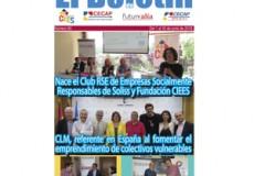"""El nacimiento del Club RSE de Empresas Socialmente Responsables impulsado por CIEES y Soliss, noticia destacada del newsletter mensual """"El Boletín"""""""