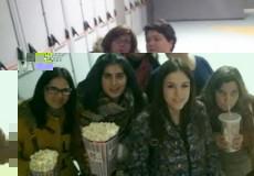 El Grupo de Ocio de Capacitación de CECAP Los Yébenes organizaba el pasado fin de semana una salida al cine en el CC Luz del Tajo y cena posterior