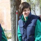 Diana Casado tiene un primer contacto con el entorno laboral en el Centro Ocupacional La Alegría de Mocejón