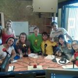 El programa de radio El Altavoz recibe la visita de la nueva voluntaria europea SVE Isabel Hoechstetter