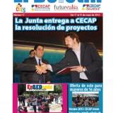 El Boletin nº 17 lleva en portada el apoyo de la Junta a los proyectos de CECAP