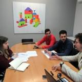 CECAP desarrolla su Plan de Acogida con los tres nuevos profesionales del Área de Capacitación para la Vida Independiente