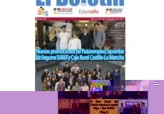 """Los programas Futurempleo de Caja Rural Castilla-La Mancha y Seguros Soliss que desarrolla Fundación CIEES, noticia destacada de nuestro newsletter mensual """"El Boletín"""""""