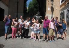 Unos 12 jóvenes toman parte en la Salida Conociendo Toledo entre amigos organizada por CECAP Los Yébenes en colaboración con CECAP Joven