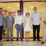 La Jefa de Formación Profesional de la Junta visita las instalaciones de nuestra organización