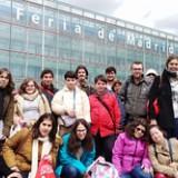 Una veintena de participantes del Área de Capacitación Laboral y Emprendimiento acuden a la XI Feria de Empleo para personas con discapacidad