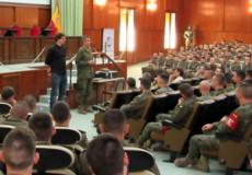 La Academia de Infantería y el Grupo CECAP refuerzan su colaboración con la presentación del Plan de Acción Social 2018-2019 de la institución militar