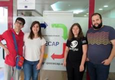 Sandra Gandía Ruiz, estudiante del Grado en Educación Social realiza sus prácticas extracurriculares en el Servicio de Capacitación CECAP