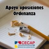 El Área de Capacitación Laboral y Emprendimiento de CECAP ofrece apoyo para la preparación de las oposiciones de Ordenanza