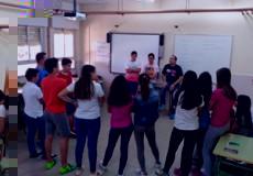 """El Servicio de Capacitación """"Montes de Toledo"""" desarrolla el proyecto Patios para la Igualdad en el IES"""