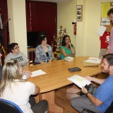 Cinco alumnos de los cursos de Formador Juvenil e Intervención Comunitaria de YMCA inician sus prácticas en CECAP