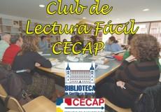 CECAP y la Biblioteca de Castilla-La Mancha te invitan a participar en un Club de Lectura Fácil donde compartir esta gran pasión con otras personas