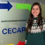 María Campo Sánchez se incorpora como profesional al Departamento de Psicología del Servicio de Capacitación CECAP