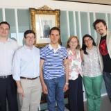 Rubén y Carmen realizan prácticas en Asuntos Sociales gracias al convenio suscrito con los Servicios Periféricos de Toledo