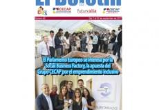 """El interés del Parlamento Europeo por la apuesta del Grupo CECAP hacia el emprendimiento inclusivo, noticia destacada de nuestro newsletter mensual """"El Boletín"""""""