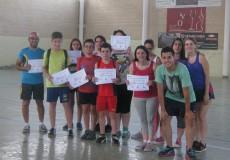 Una docena de jóvenes finaliza el Curso de Iniciación al Deporte impartido por CECAP Los Yébenes en las instalaciones municipales