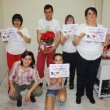 Entrega de diplomas del Taller de Costura dirigido por Javier Puñal